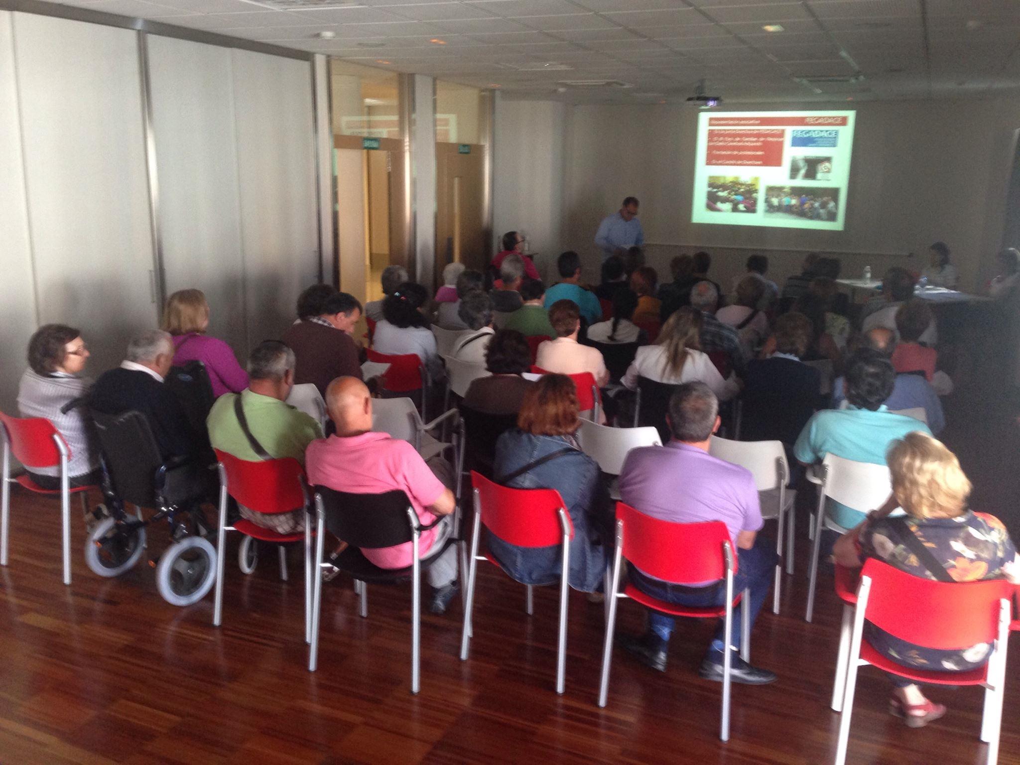 Asamblea socios y socias Asociación ALENTO Daño Cerebral Vigo