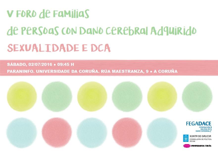 Cartel V Foro de Familias de Personas con Daño Cerebral
