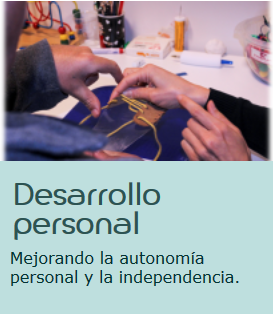 Desarrollo personal Asociación ALENTO