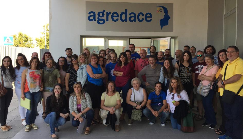 Participantes en el Encuentro de Voluntariado de FEDACE