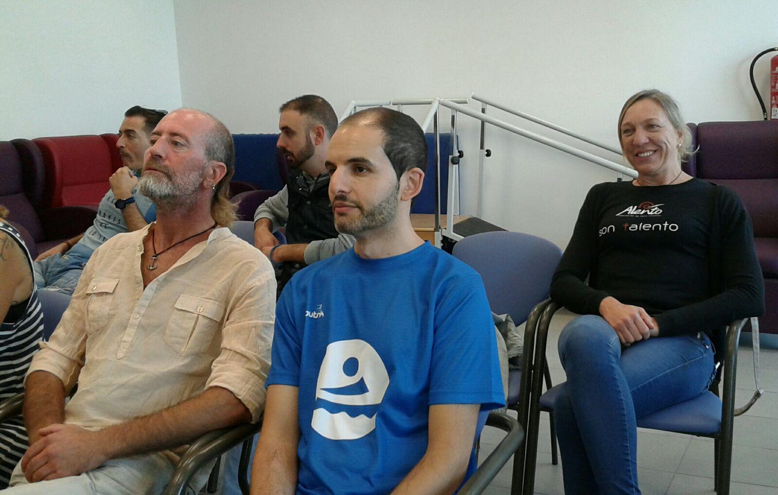 Voluntarios de ALENTO en el Encuentro de Voluntariado de FEDACE