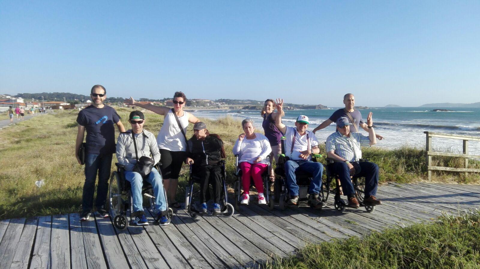 Grupo de usuarios de ALENTO con Daño Cerebral o ictus de Respiro Familiar