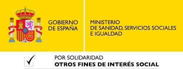 Ministerio de Sanidad, Servicios Sociales e Igualdad. Colaboración con ALENTO