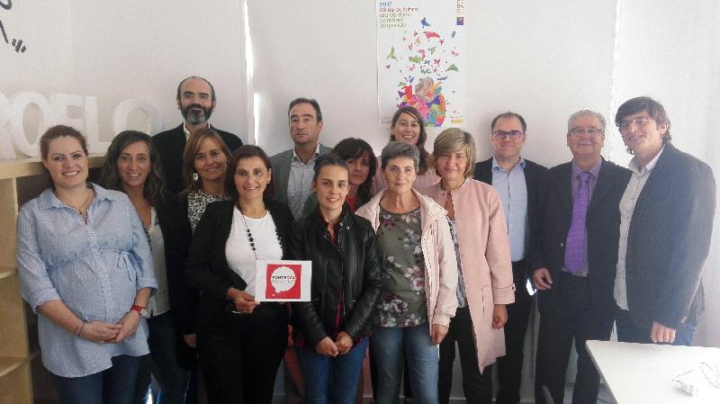 Representantes del movimiento asociativo del Daño Cerebral en la Presentación de PonteDCA