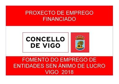 El Concello de Vigo colabora con el Taller artístico de ALENTO a través del fomento del empleo