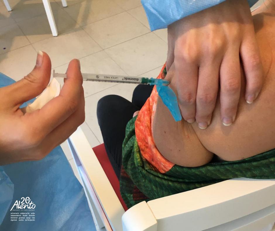 Vacunación contra el COVID19 en la Asociación ALENTO de Daño Cerebral de Vigo