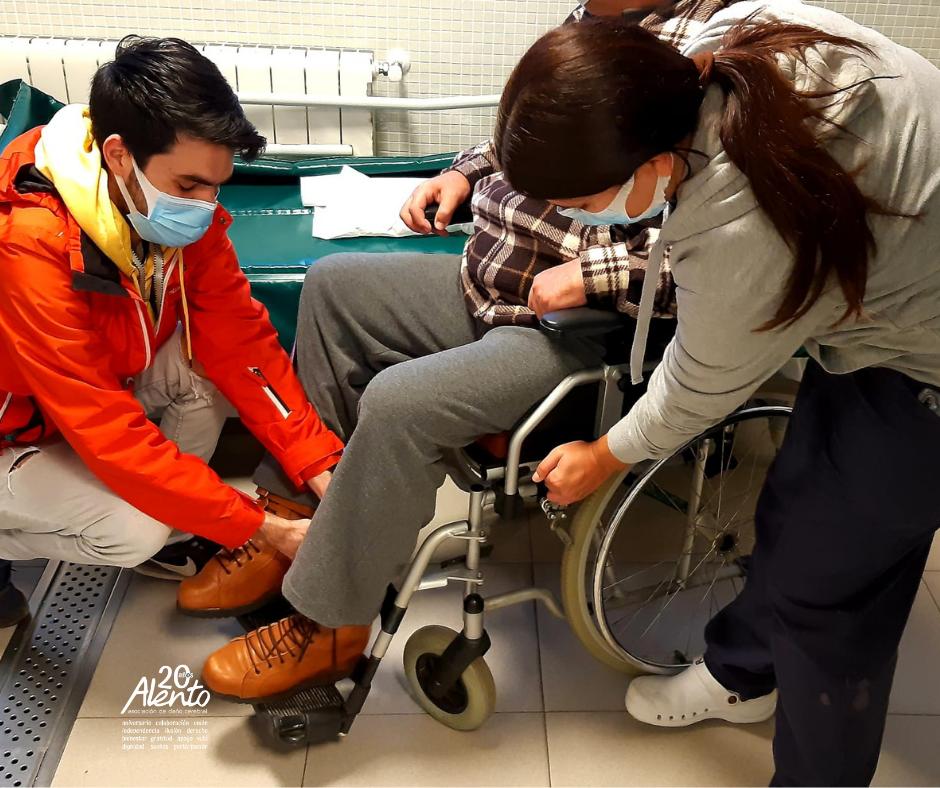 Cuidados para personas con daño cerebral en ALENTO Vigo