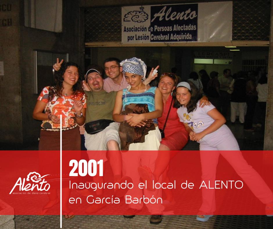 Inauguración de los locales de la Asociación ALENTO para personas con daño cerebral en Vigo