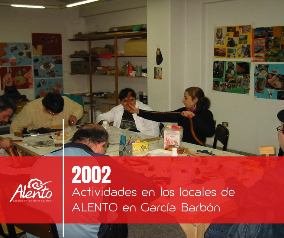 ALENTO realiza actividades ocupacionales para personas con daño cerebral adquirido en Vigo